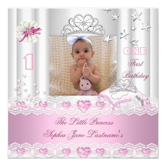 1400 best 1st Birthday Invitations images on Pinterest 1st - invitation card for ist birthday