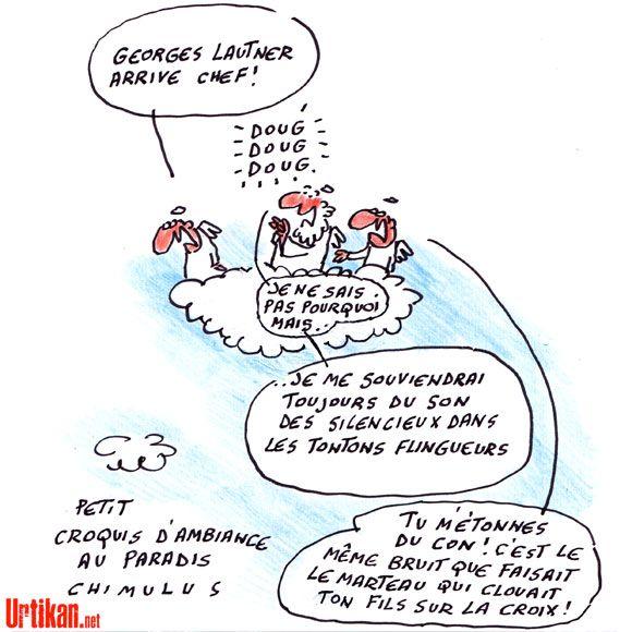 Hommage à Georges Lautner - Dessin du jour - Urtikan.net