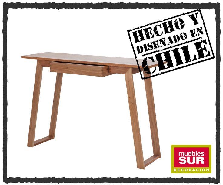 """La resistencia y durabilidad de un buen ensamble se manifiestan en nuestra mesa arrimo """"Milano"""".   Disfruta de aquellos detalles que hacen a un mueble único."""