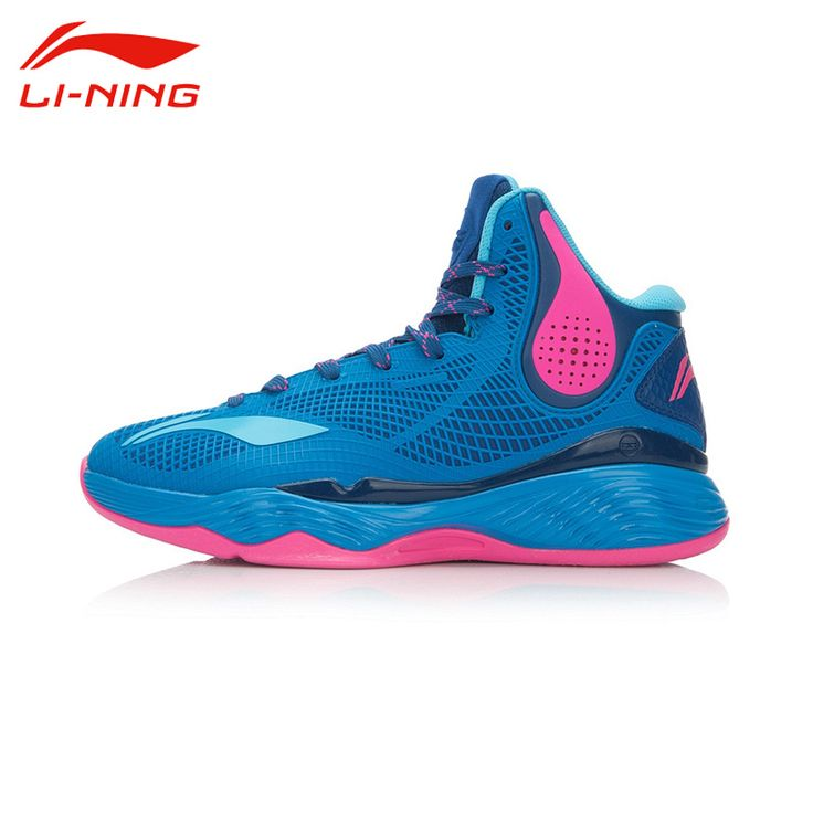 Li-Ning Men's Breathable Basketball Shoes LiNing Cushioning Wear-Resisting Anti-Slip Outdoor Sports Sneakers ABAL003