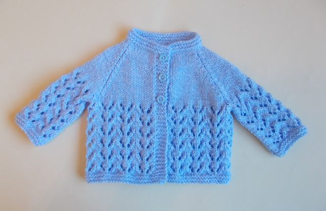 Sweet little baby jacket in two sizes ~ 0 -3 months and 3 - 6 months baby  Bibi Baby Jacket I previously used this stitch to...