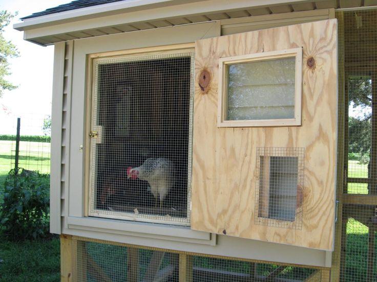 Ventilation For Chicken Houses : Chicken coop ventilation ideas chickens pinterest