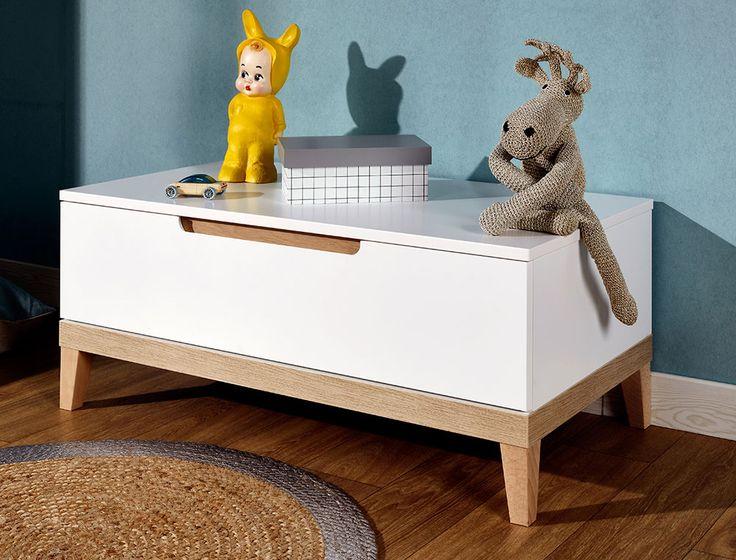 Coffre à jouet Evidence | Coffre à jouets, Meubles de rangement, Mobilier de salon