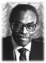 Lincoln Alexander, of Hamilton, Ontario, became the first Black member of the federal parliament in 1968 and the first Black cabinet minister of the federal government as Minister of Labour in 1979. After 12 years of service as a member of parliament, he resigned from federal politics and became the chairman of the Ontario Workmen's Compensation Board. He was also the first Black person appointed Lieutenant Governor of Ontario.