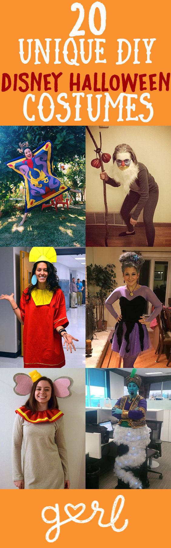 20 Unique DIY Disney Halloween Costumes You Haven't ...