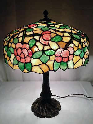 23 Best Images About Slag Glass Lamps On Pinterest