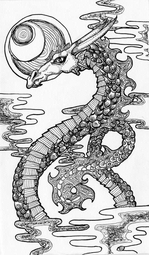Cloud Dragon 598x1024 Jpg 598 215 1 024 Pixels Color Dragon
