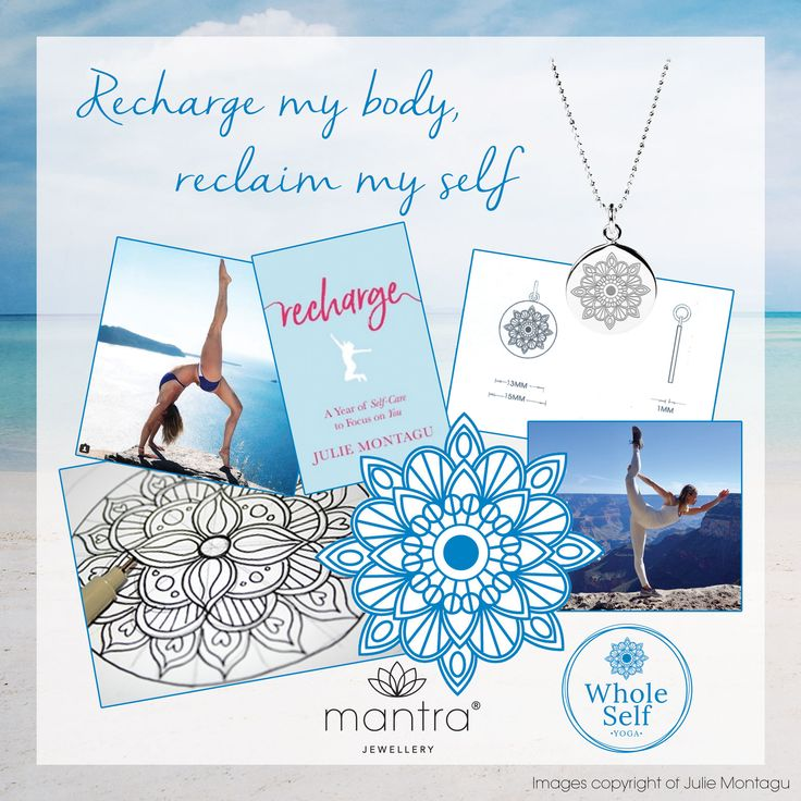 Julie Montagu Recharge Necklace Mantra Jewellery