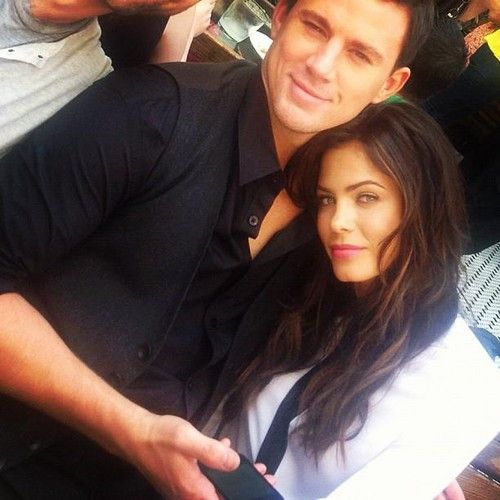 Channing Tatum and Jenna Dewan Tatum:Love of my life and his gorgeous wife :)