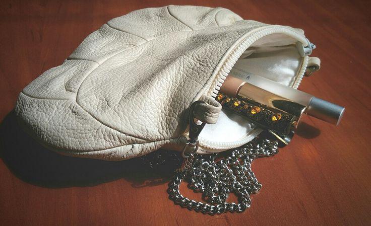 Маленькая летняя сумочка. Кожа.   Small sumer purse. Leather   #handmade #soulmade #bag #leather #diy