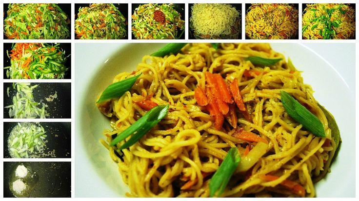 Shweta in the Kitchen: Chilli Garlic Noodles