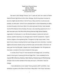 Sample Parent Recommendation Letter For College.Parent Recommendation Letter For Eagle Scout Example Zoro