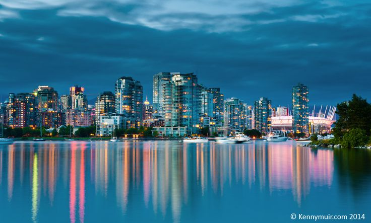 https://flic.kr/p/o2n6uY | Vancouver skyline | Downtown Vancouver from Charleson park