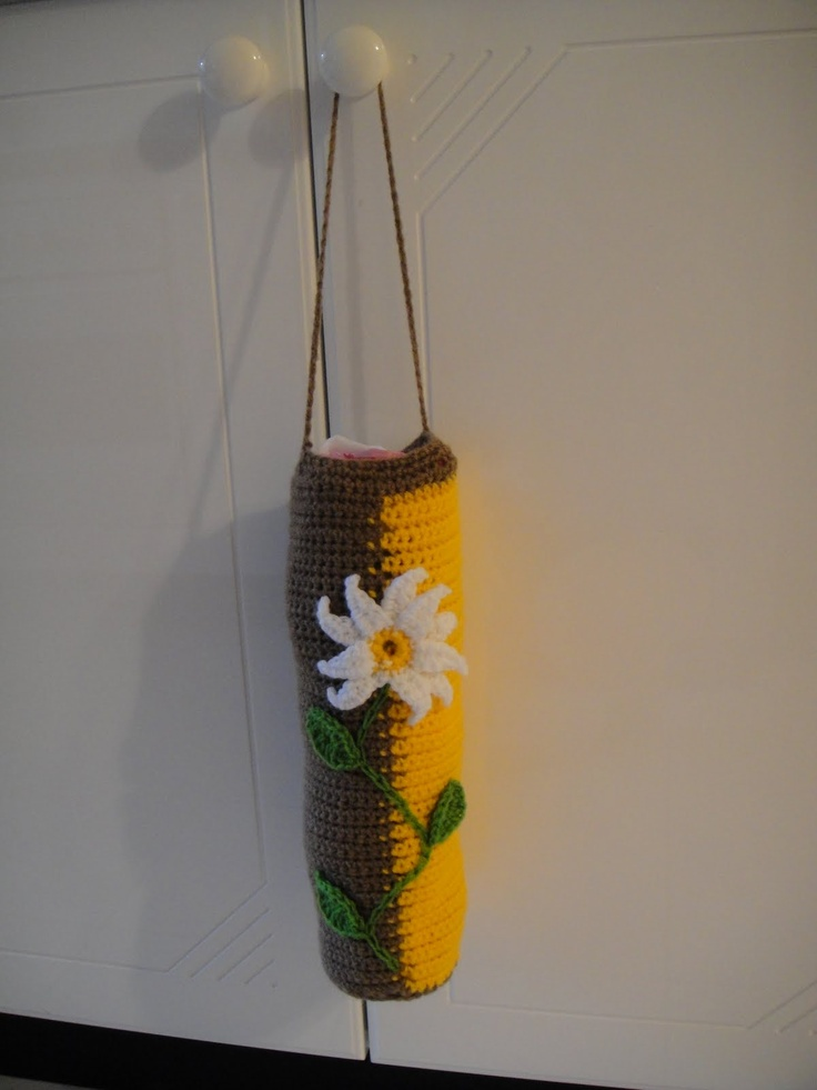 The best images about crochet bag holder on pinterest