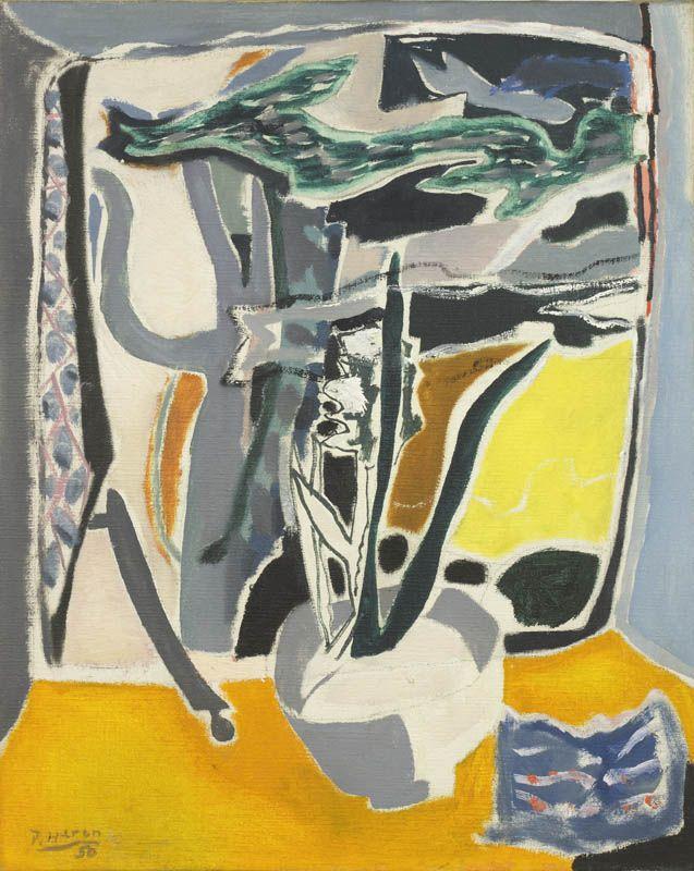 Patrick Heron | Hyacinths and Cedar, Godolphin