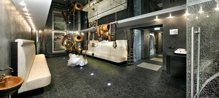 Saunabereich im Wellnesshotel im Salzburgerland