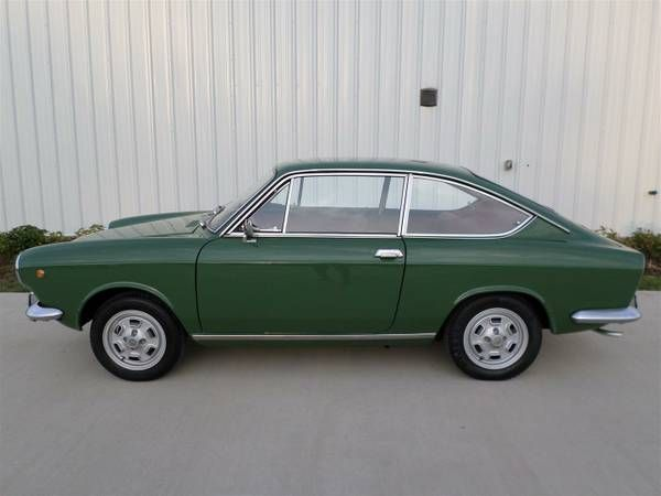 Restored 1970 Fiat 850 Sport Coupe