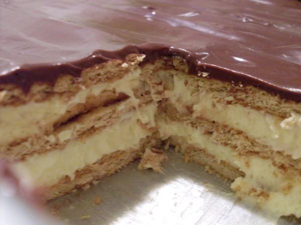 Chocolate eclair cake recipe pinterest