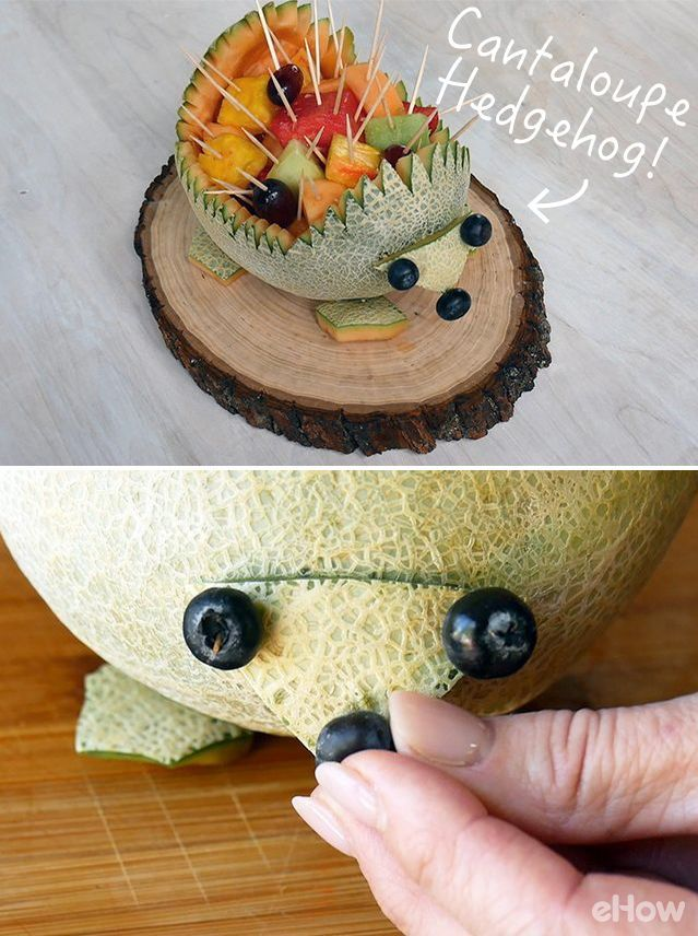 How To Make A Hedgehog Out Of Fruit