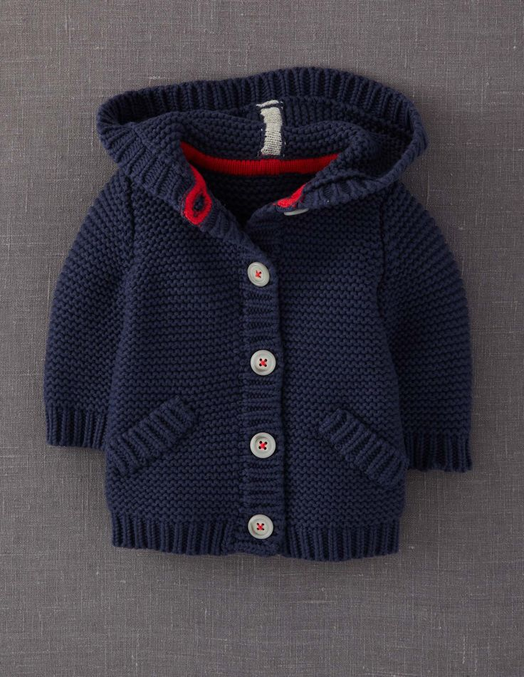 Sweater jacket (Mini Boden).