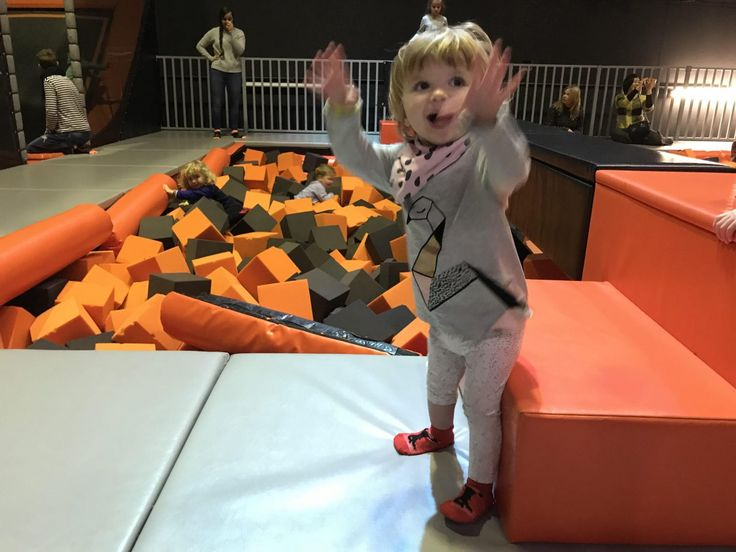 Jump up and get down at ZAPspace's toddler trampolining sessions in Stratford, London. The drop slide is closed for these sessions so you don't have to worry about your child trying to coax you onto it and paralysing you in the process.