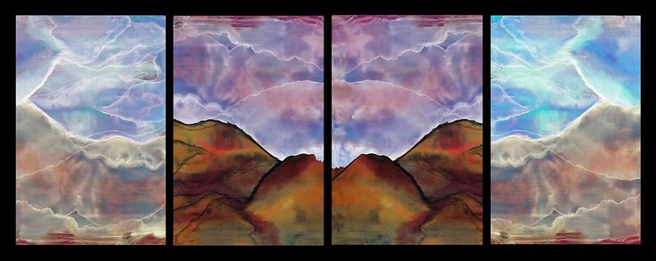 Nature's Beauty Art Exhibition - International Gallery Of The Arts (IGOA)- Jane Silver- Mountains- Digital Contact: Facebook page- Jane Silver