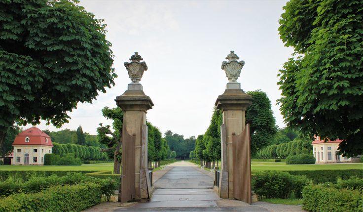 Moritzburg Castle gardens, Germany.