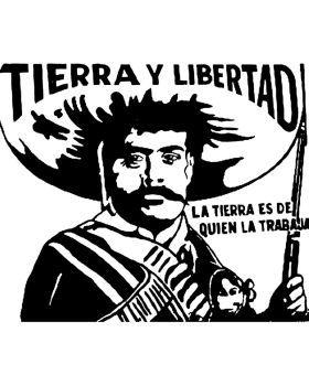 Emiliano Zapata Stencil de xManuelx