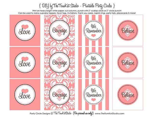 Very sweet packaging and labeling idea for a Valentine's Day bake sale!