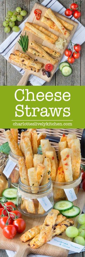 The best cheese straws you'll ever taste with homemade flaky pastry and delicious Comté cheese. Plus three extra flavours - chilli, chive and sun-dried tomato & olive.