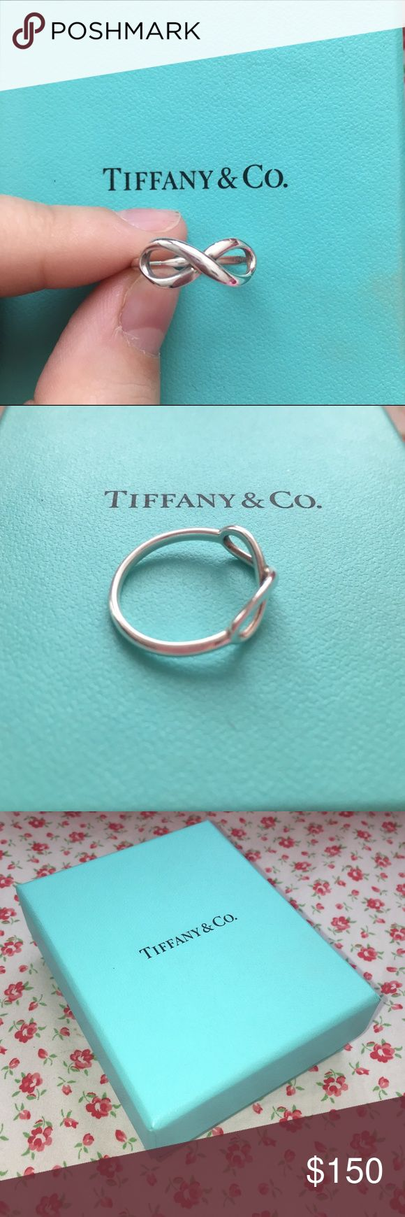 Infinity Ring Tiffany & Co Infinity Ring, Sterling Sliver,