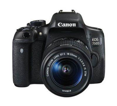 Lustrzanka cyfrowa CANON EOS 750D + 18-55mm IS STM