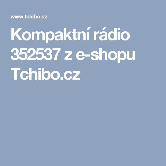 Kompaktní rádio 352537 z e-shopu Tchibo.cz