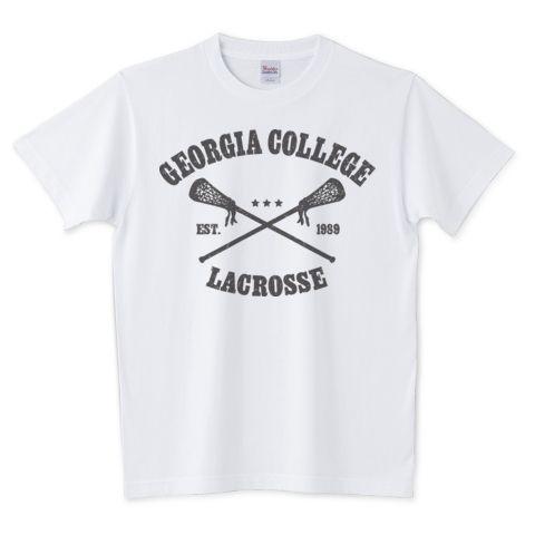 Lacrosse college | デザインTシャツ通販 T-SHIRTS TRINITY(Tシャツトリニティ)