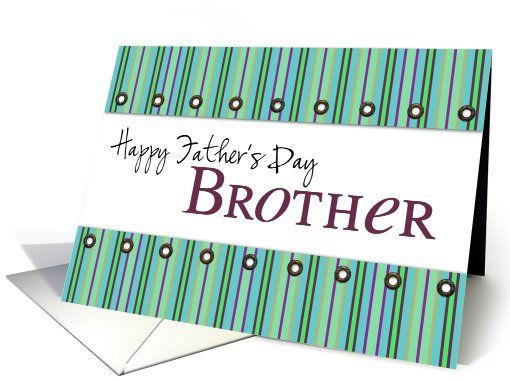 happy father's day brother card (206053) sold to customer in  New York, United States