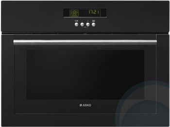 Asko Steam oven Black. 5 year warranty at appliances online. OS8411A. 592mm wide.