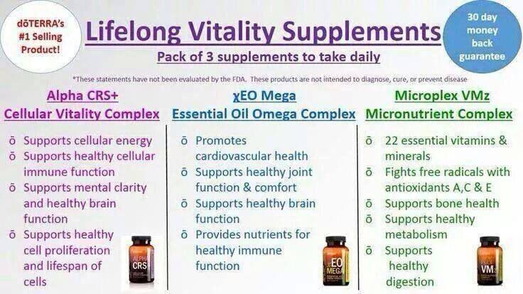 doTERRA LLV - I won't go a day without these supplements. They have helped me THAT much!   www.mydoterra.com/brandylance/