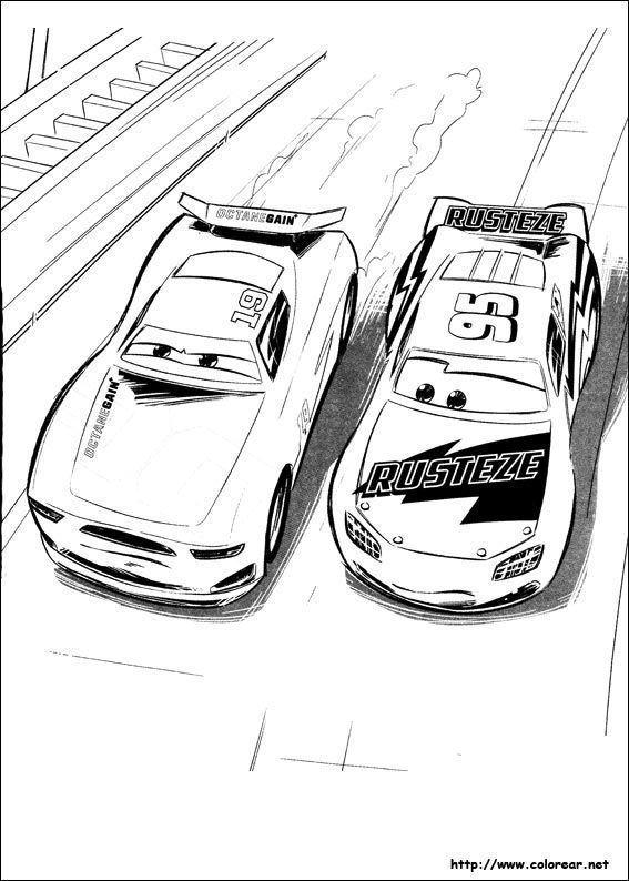 Cars 3 Para Colorear Dibujos Para Colorear Colores Dibujos