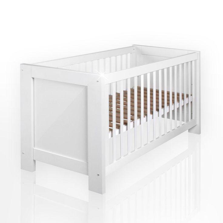 Babybett aus der Serie Enni in Hochglanz, 70 x 140 cm: Amazon.de: Baby