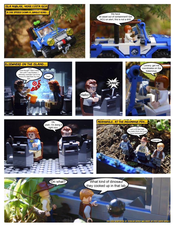 7 best LEGO Comics by me! images on Pinterest | Lego jurassic world ...