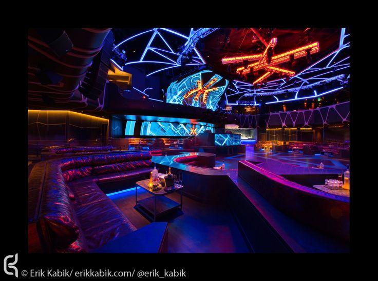 Hakkasan Las Vegas by Isometrix Lighting + Design