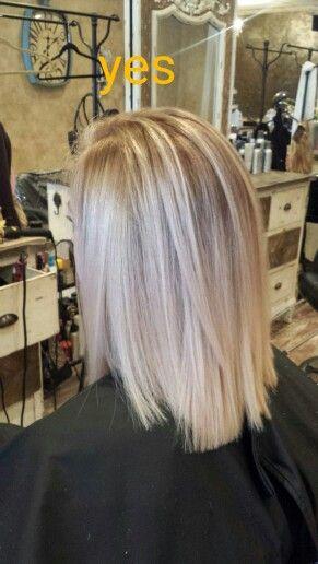 Blond Balayage by Ana