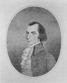 """Charles McKnight (1750-1791) was an American physician during and after the American Revolutionary War. He served as a surgeon and physician in the Hospital Department of the Continental Army under General George Washington and was one of the most respected surgeons of his day. His headstone inscription: """"Here lies the body of Charles McKnight M. D. Senior Surgeon in the American Army of the Revolution and late professor in the Medical Department of Columbia College. A most eminent surgion…"""
