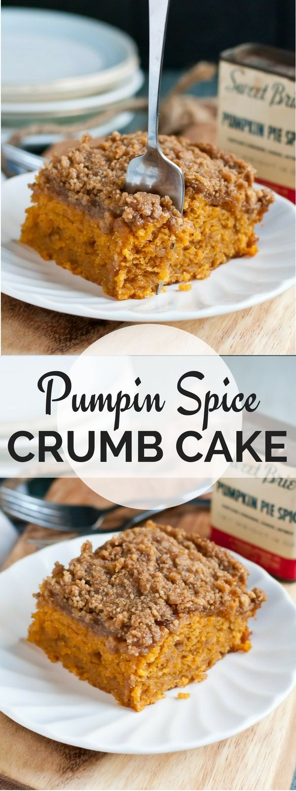 pumpkin spice crumb cake