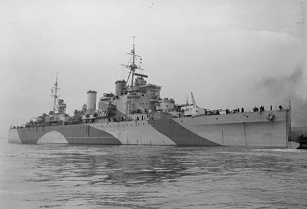 HMS London (69) was a member of the second group of the County class heavy cruisers of the British Royal Navy.