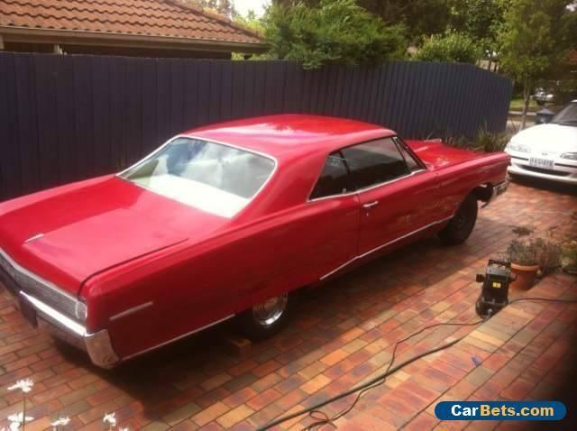 Pontiac 1965 Unfinished Project #pontiac #grandprix #forsale #australia