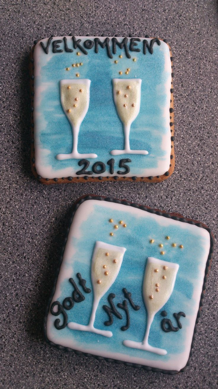New years cookies