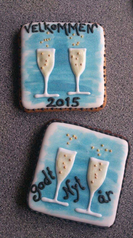 New years cookies