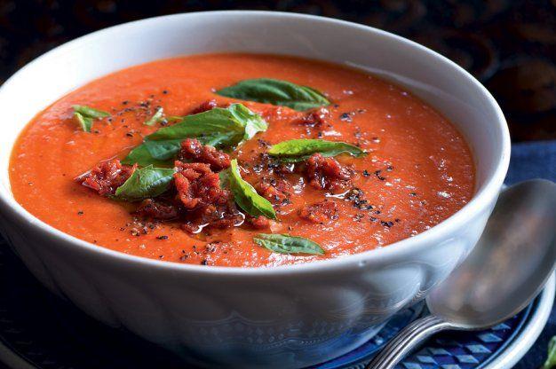Toskánská rajčatovo-chlebová polévka