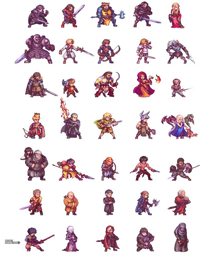 Hi! Again with GoT sprites, this time i want to do a kind of project imagining the characters in a fighting game with a pixelated style. My plan is to add a new character every week starting with: ...